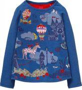 Oilily Langarm Shirt TUMBLE Pferd - Blue