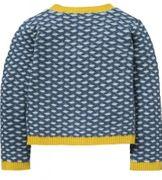 Oilily Cardigan KWICKLY weiche Strick Jacke - Blue