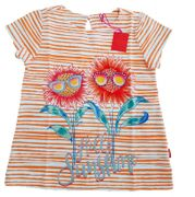 Oilily T-Shirt TALIZ Hello SUNSHINE - Orange Pink