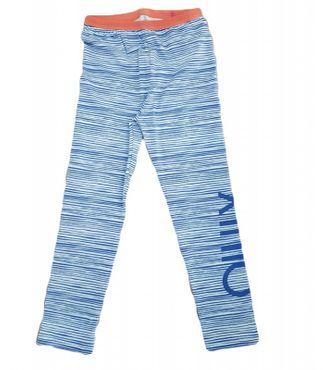 Oilily Leggings TASKI mit coolem Logo gestreift - Blau