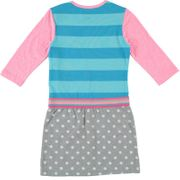 Mim-Pi Kleid Katze Bubble meets Stripes