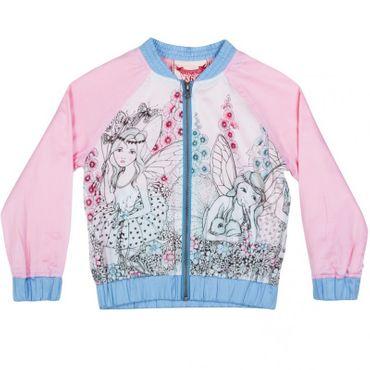 Paper Wings Jacke tolle Baumwoll-Qualität Elfen - Blau Rosa