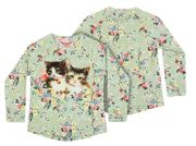 Paper Wings Langarm Shirt Vintage Rosie Cats