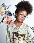 Paper Wings Hoodie Kleid Vintage Rosie Cats