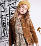 Paper Wings Winter Cord Jacke - Braun