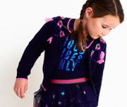 Mim-Pi Shirt GOOD VIBES Glam - Blau