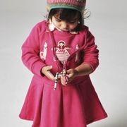Oilily Kleid HERMOSA Lama Girl - Pink