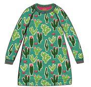 Oilily Sweat Kleid HIPPEL Kaktus - Grün
