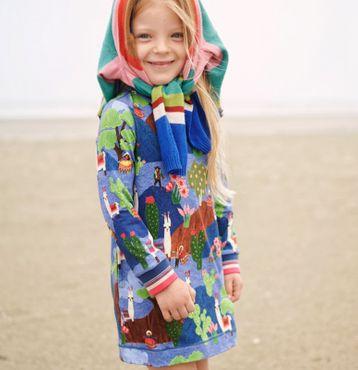 Oilily Jersey Kleid THELAMA - Blau