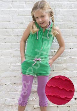 Bonnie Doon Frou Frou Legging cheerleader - pink