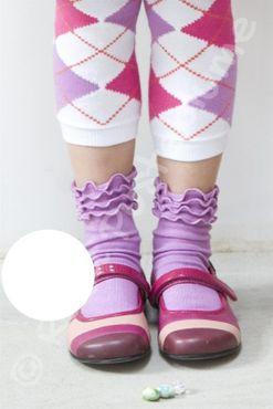 Bonnie Doon Socken Frou Frou white - weiß