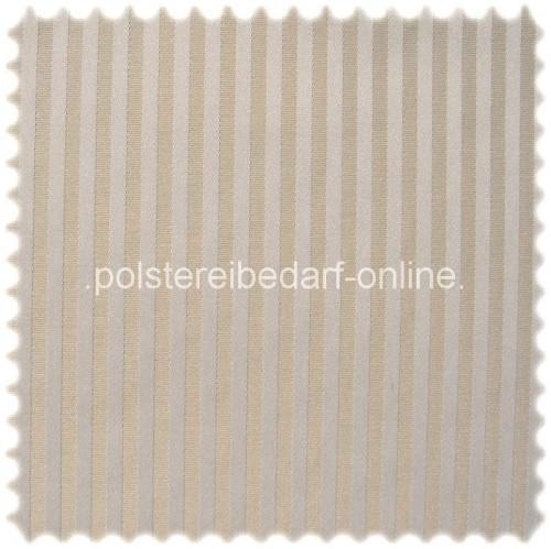 Fashion Möbelstoff Zermatt Streifen Natur (Elfenbein)