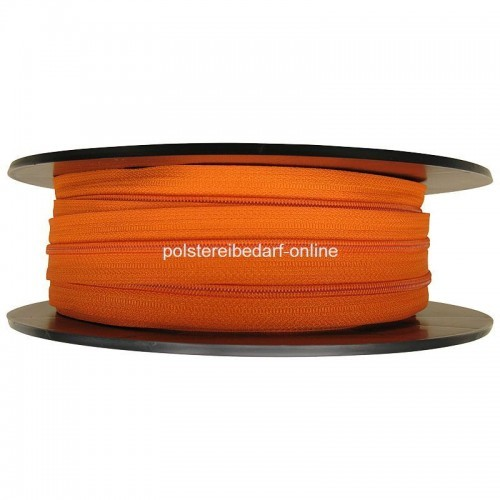 25 Meter Reißverschluss Orange