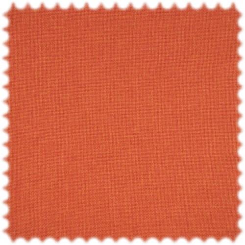 Hochleistungs Objekt Möbelstoff Scala Uni Orange DIN 4102 B1