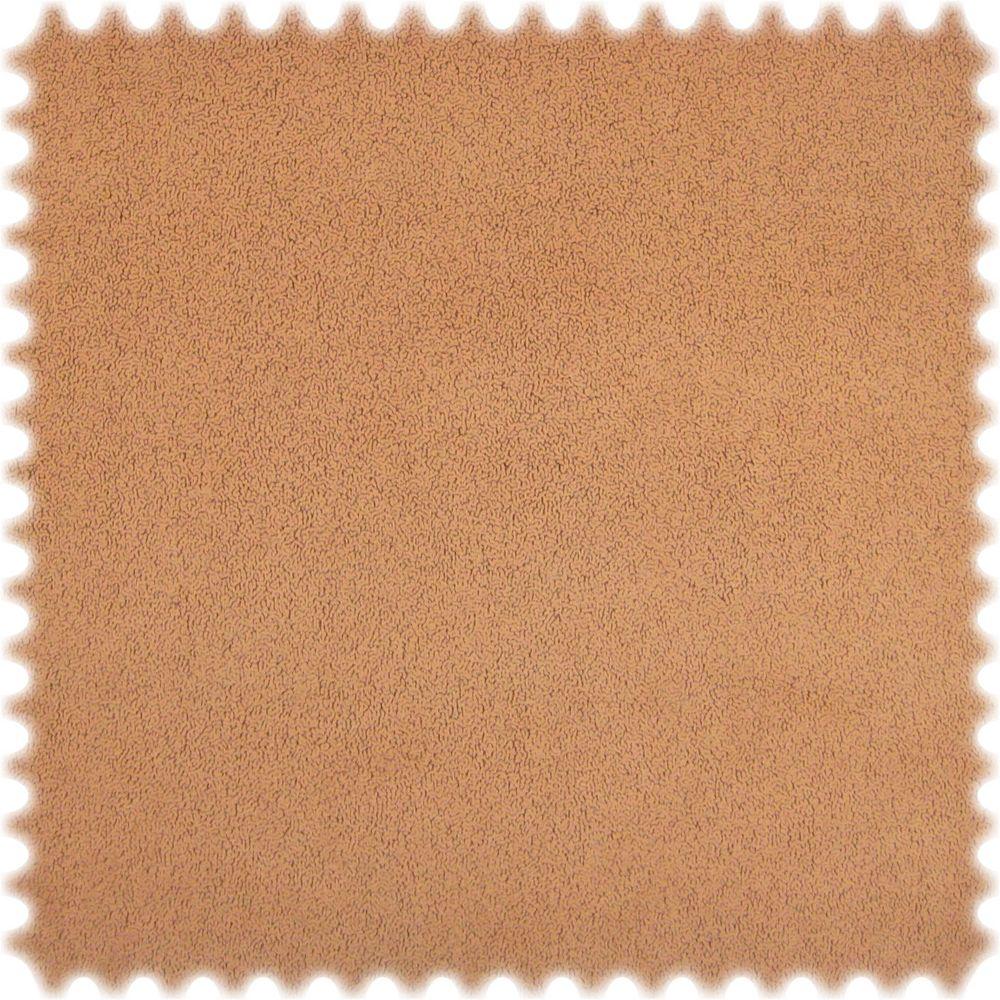 AKTION Original Microfibres® Flockvelours Möbelstoff LONGLIFE Soft Lachs