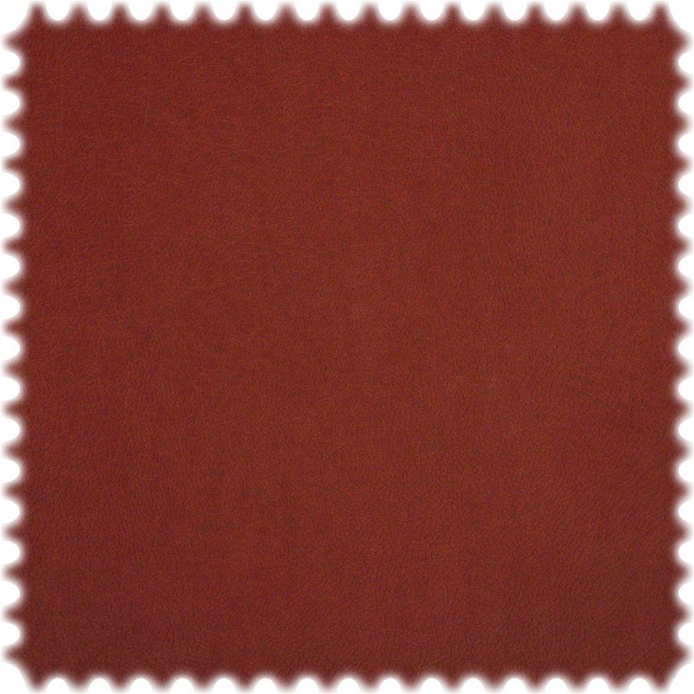 AKTION Original Microfibres® Uni Flockvelours Möbelstoff Toro Oxidrot