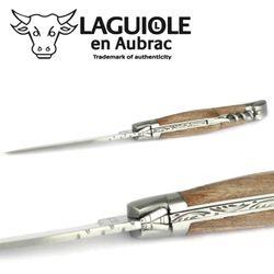 Laguiole en Aubrac - Walnussholz - Korkenzieher - 11 cm Taschenmesser – Bild 5