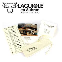 Laguiole en Aubrac - Alte Weinrebe - 12 cm Taschenmesser L0212CVIF – Bild 3