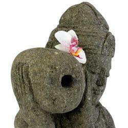 Balinesische Statue Wassergöttin Dewi Gentong 80 cm Stein Skulptur stehend Bild 3