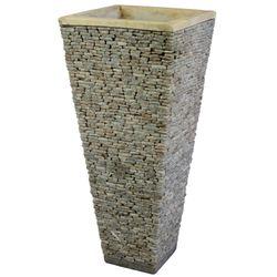 Steinvase 80 cm Onyx Marmor 001
