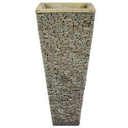 Steinvase 80 cm Onyx Marmor Bild 2