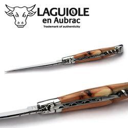 Laguiole en Aubrac - Wacholder - Korkenzieher - 12 cm Taschenmesser L0312GEIFI – Bild 5