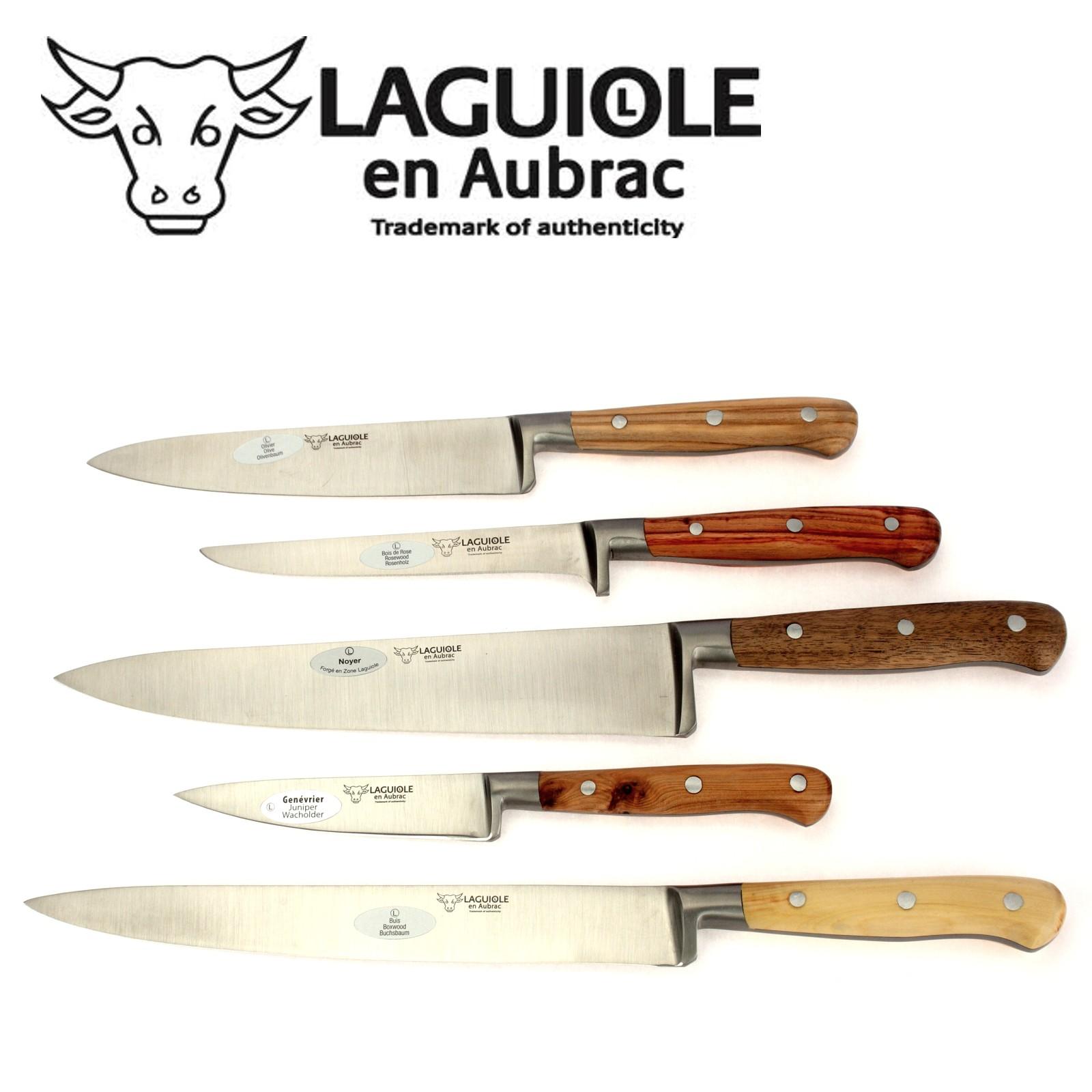 Laguiole en Aubrac - Küchenmesser - Messerblock 5-teilig 118495 | {Küchenmesser 49}