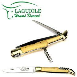 Laguiole Honoré Durand - Buchsbaum - Korkenzieher - Dorn - 12 cm Taschenmesser – Bild 4