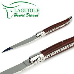 Laguiole Honoré Durand - Griff Schlangenholz - 12 cm Taschenmesser – Bild 3