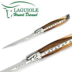 Laguiole Honoré Durand - Pistazienholz - 12 cm Taschenmesser – Bild 3