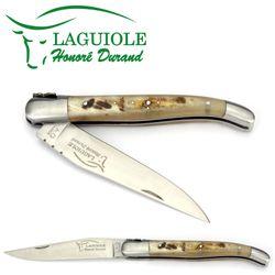 Laguiole Honoré Durand - Widderhorn - 12 cm Taschenmesser – Bild 2