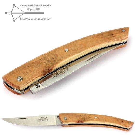 Arbalete G. David Thiers - Wacholder - 12 cm Taschenmesser – Bild 1