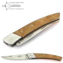 Arbalete G. David Thiers - Wacholder - 12 cm Taschenmesser - Backe Edelstahl – Bild 1