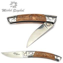 Michel Seychal Thiers BELEN - Griff Esche - 12 cm Taschenmesser – Bild 2