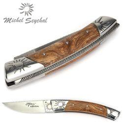 Michel Seychal Thiers BELEN - Griff Esche - 12 cm Taschenmesser – Bild 5