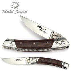Michel Seychal Thiers BELEN - Griff Violettholz - 12 cm Taschenmesser – Bild 1