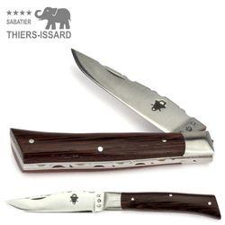 Thiers-Issard ALPIN - Griff Wenge Holz - 9 cm Taschenmesser – Bild 1