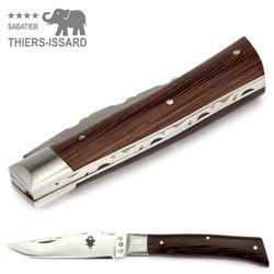 Thiers-Issard ALPIN - Griff Wenge Holz - 9 cm Taschenmesser – Bild 5