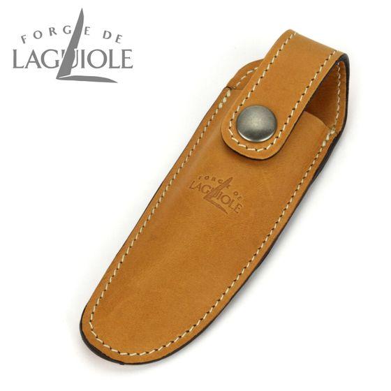 Forge de Laguiole - Gürteletui aus Leder - braun - für Taschenmesser 11/12 cm – Bild 1