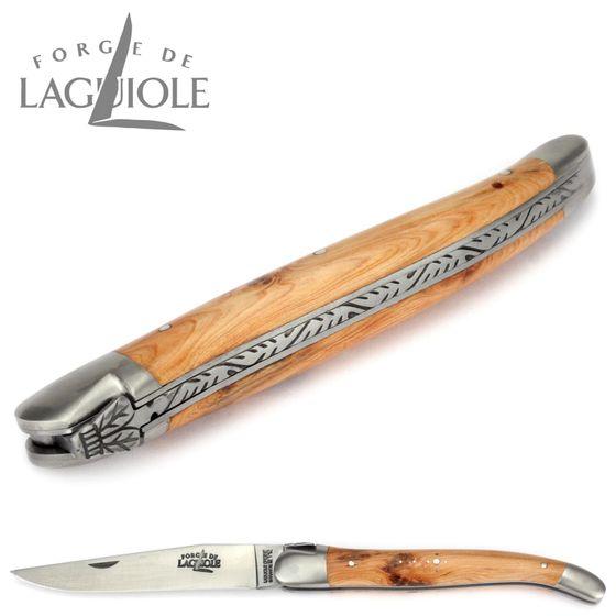 Forge de Laguiole - Griff Wacholder - 12 cm Taschenmesser – Bild 5