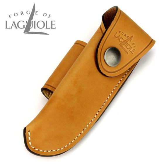 Forge de Laguiole Gürteletui - Leder braun - 11/12 cm Taschenmesser – Bild 1