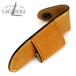 Forge de Laguiole Gürteletui - Leder braun - 11/12 cm Taschenmesser – Bild 3