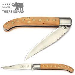 Thiers-Issard Yatagan Basque - Wacholder - 12 cm Taschenmesser – Bild 2