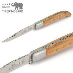 Thiers-Issard Yatagan Basque - Wacholder - 12 cm Taschenmesser – Bild 3