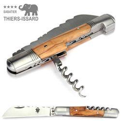 Thiers-Issard TONNEAU - Olivenholz - Korkenzieher - 10 cm Taschenmesser – Bild 6