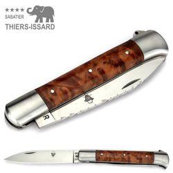 Thiers-Issard ISSOIRE DROIT - Thujaholz - Dorn - 12 cm Taschenmesser – Bild 4
