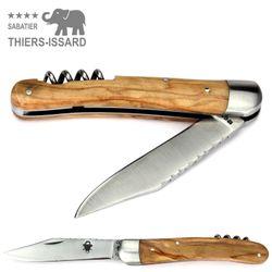 Thiers-Issard MASSU ALSACIEN - Olive - Korkenzieher - 10 cm Taschenmesser – Bild 2