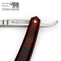 """Thiers-Issard Sabatier Rasiermesser - Wüsten-Eisenholz - 5/8"""" - C135 Carbonstahl – Bild 5"""