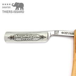 "Thiers-Issard Sabatier Rasiermesser - Olivenholz - 5/8"" - C135 Carbonstahl – Bild 3"
