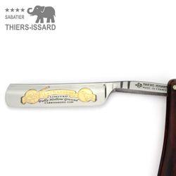 "Thiers-Issard Rasiermesser - Schildpatt Imitat - 5/8"" - C135 Carbonstahl – Bild 3"
